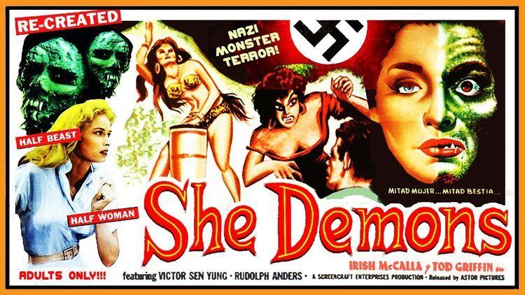 She Demons She Demons 1958 Jungle Dance BW 307 mins YouTube