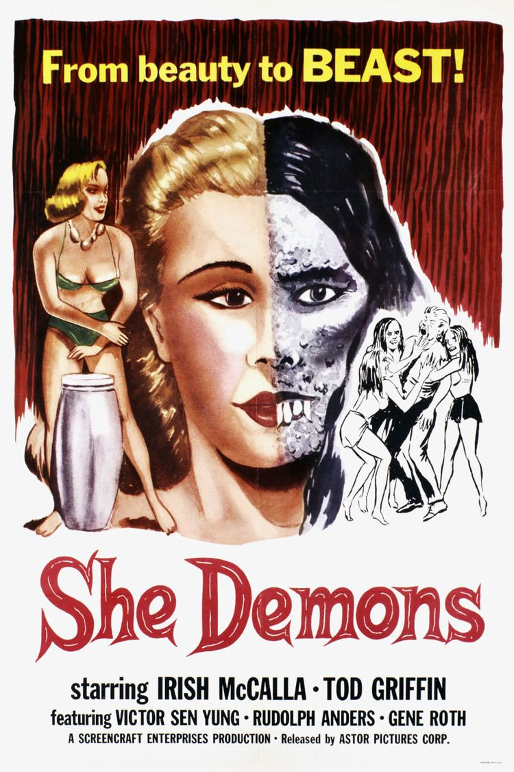 She Demons wwwgstaticcomtvthumbmovieposters40152p40152