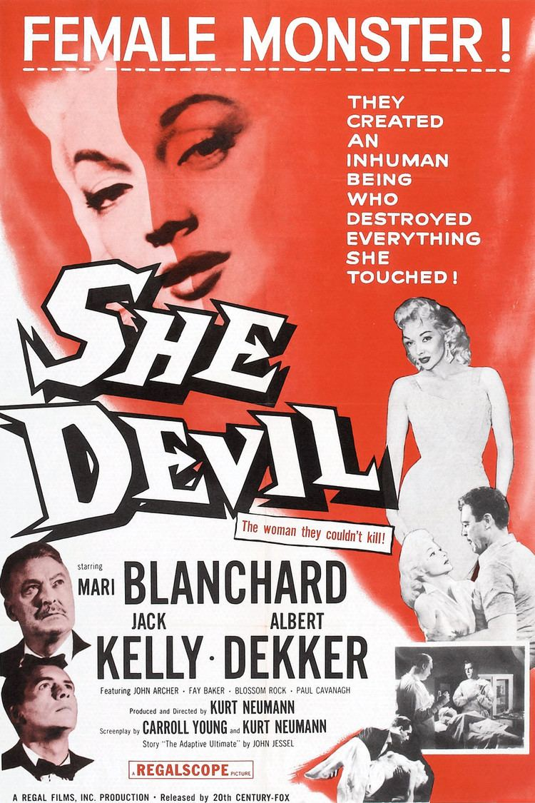 She Devil (1957 film) wwwgstaticcomtvthumbmovieposters37772p37772