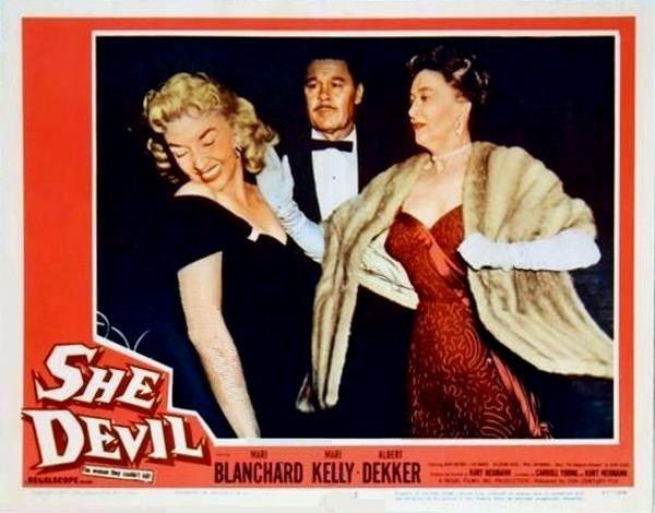 She Devil (1957 film) Unbalanced Maybe She Devil 1957 The Telltale Mind
