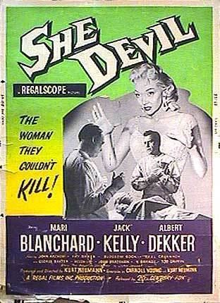 She Devil (1957 film) She Devil movie posters at movie poster warehouse moviepostercom