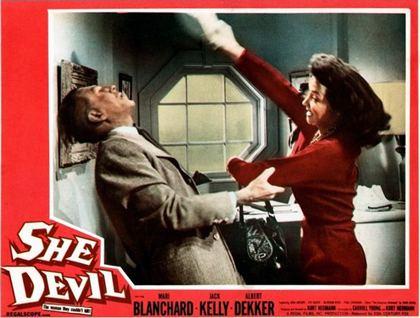 She Devil (1957 film) DVD Savant Bluray Review She Devil 1957