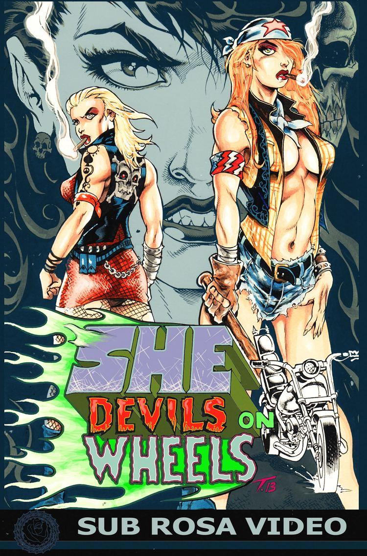 She-Devils on Wheels HG Lewis She Devils on Wheels Big Box hits 920 ScareACon