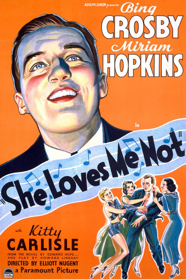 She Loves Me Not (1934 film) wwwgstaticcomtvthumbmovieposters42270p42270