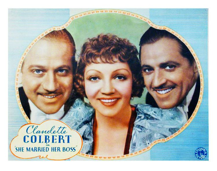 She Married Her Boss Claudette Colbert in She Married Her Boss 1935