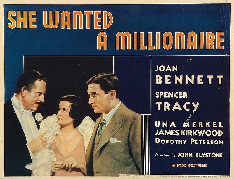 She Wanted a Millionaire She Wanted a Millionaire 1932