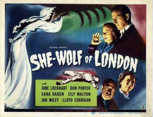 She-Wolf of London (film) SheWolf of London From Film to TV