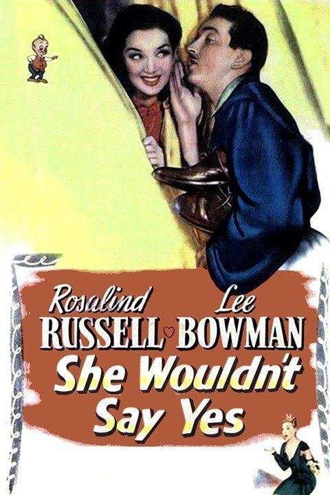 She Wouldn't Say Yes wwwgstaticcomtvthumbmovieposters39270p39270