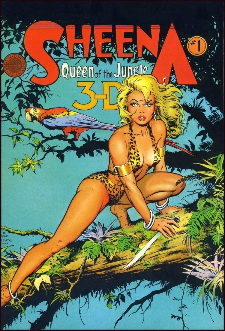 Sheena, Queen of the Jungle Sheena Queen of the Jungle 3D 1 by Dave Stevens comics