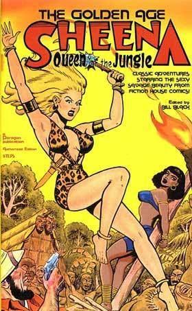 Sheena, Queen of the Jungle Sheena Queen of the Jungle Comic Book TV Tropes