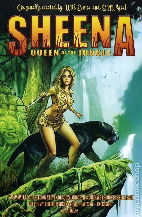 Sheena, Queen of the Jungle Sheena Queen Of The Jungle comic books issue 1