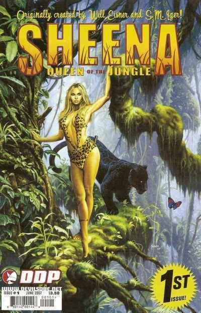 Sheena, Queen of the Jungle Sheena Queen of the Jungle Comic Books for Sale Buy old Sheena