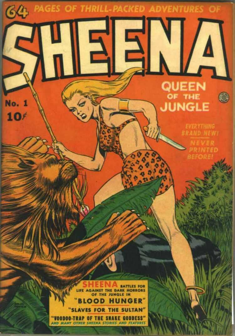 Sheena, Queen of the Jungle Sheena Queen of the Jungle Peterrock12 What I Believe What I