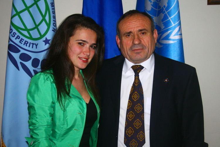 Shefki Hysa Ambassador Dr Shefki Hysa Governor of DMPP and Mrs Elsa