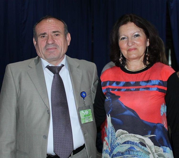 Shefki Hysa Dr Shefki Hysa and Mrs Anna Popper JournalistEditor