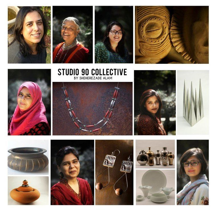 Sheherezade Alam The Studio 90 Collective by Sheherezade Alam brings to Lahore a two
