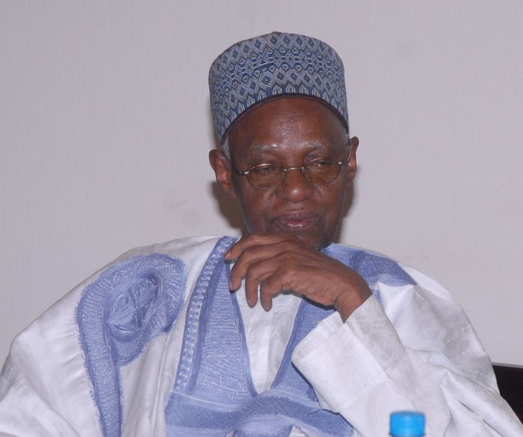 Shehu Shagari PRESIDENT JONATHAN CONGRATULATES ALHAJI SHEHU SHAGARI ON