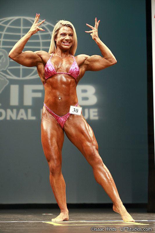 Sheila Bleck IFBB Professional League 2010 New York Pro Women