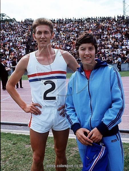 Sheila Sherwood John and Sheila Sherwood Athletics 1972 season Crystal Palace