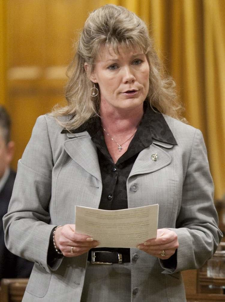 Shelly Glover Nononsense MP dedicates life to her job images on