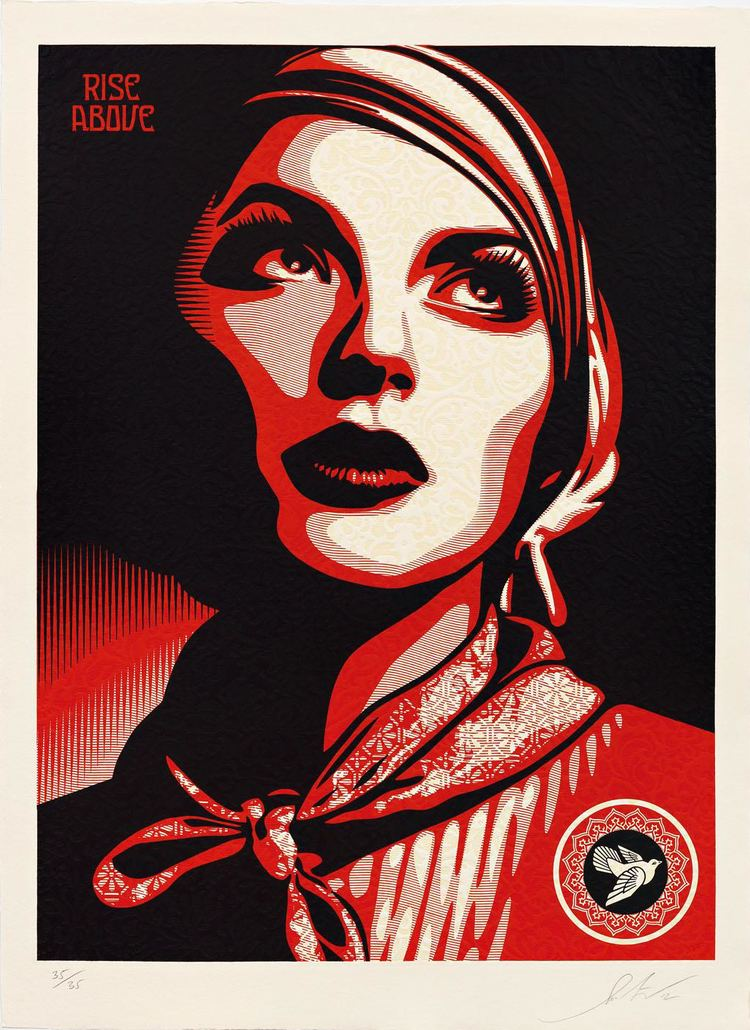 Shepard fairey fist gay marriage plagiarism