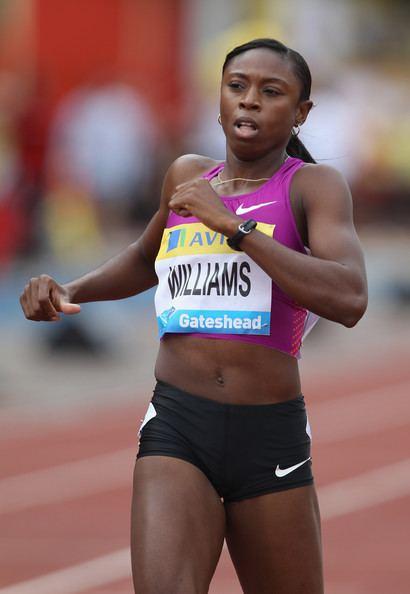 Shericka Williams Shericka Williams Photos IAAF Diamond League Aviva