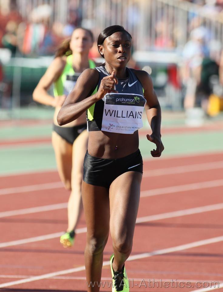 Shericka Williams Profile of Shericka WILLIAMS AllAthleticscom