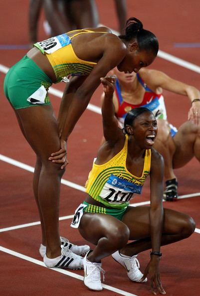 Shericka Williams Shericka Williams and Rosemarie Whyte Photos Olympics