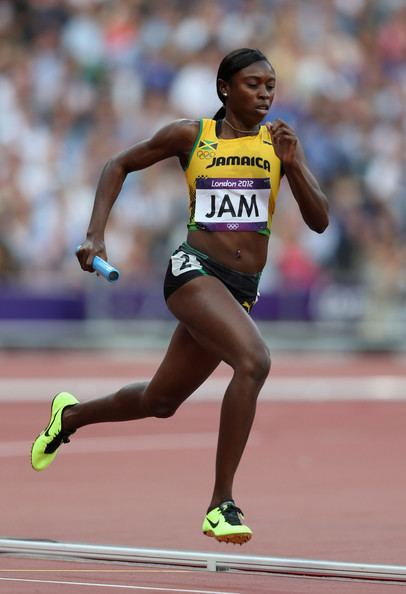 Shericka Williams Shericka Williams Photos Olympics Day 14 Athletics