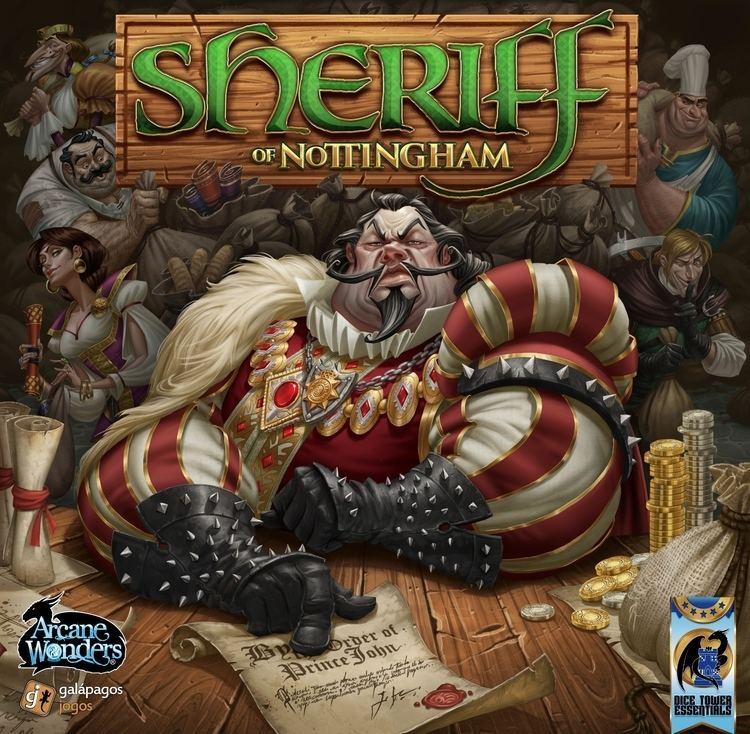 Sheriff of Nottingham Sheriff of Nottingham Board Game BoardGameGeek