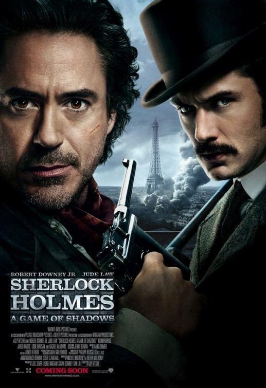 Sherlock Holmes: A Game of Shadows Sherlock Holmes A Game of Shadows Movie Poster Gallery