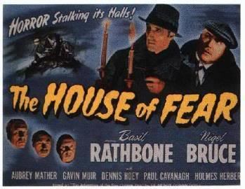 The House of Fear (1945 film) THE HOUSE OF FEAR 1945 Classic Horror Film Board