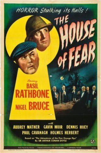 The House of Fear (1945 film) SHERLOCK HOLMES IN THE HOUSE OF FEAR 1945 Comic Book and Movie