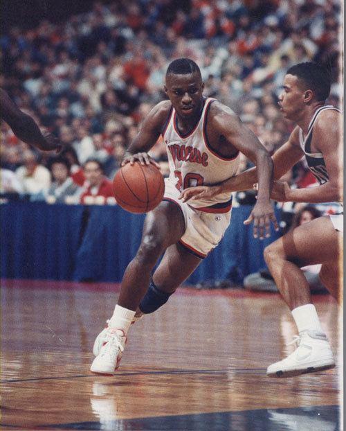 Sherman Douglas DC Basketball Commemorating Washington Basketball History