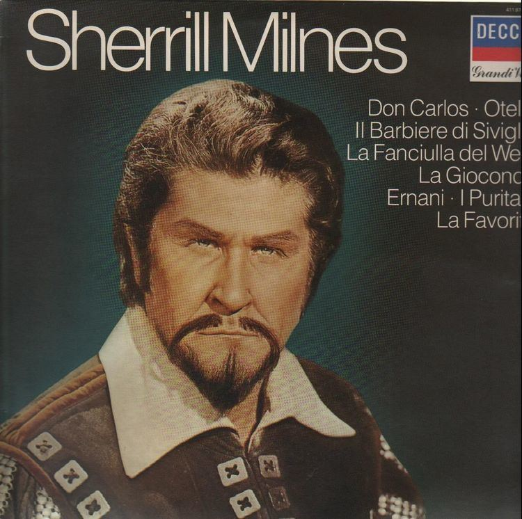Sherrill Milnes Sherrill Milnes Records LPs Vinyl and CDs MusicStack