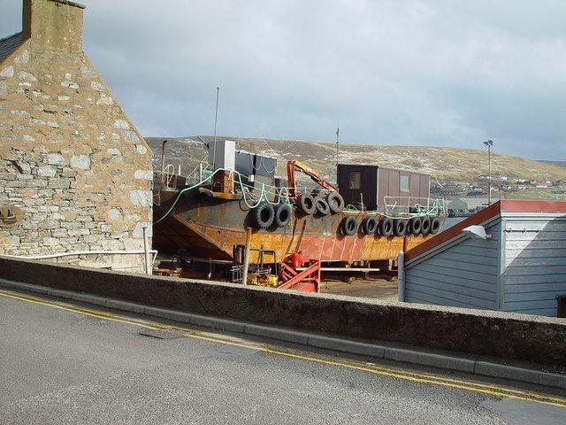 Shetland bus boats