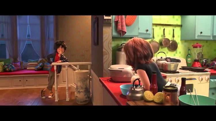 Shhh! (film) movie scenes Big Hero 6 MOVIE CLIP Low Battery 2014 Disney Animation Marvel Movie HD