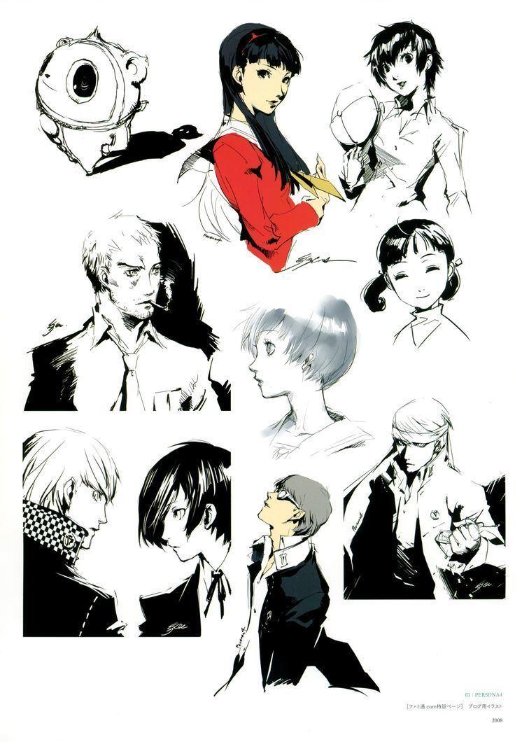 Shigenori Soejima Shigenori Soejima on Pinterest Character Art Character