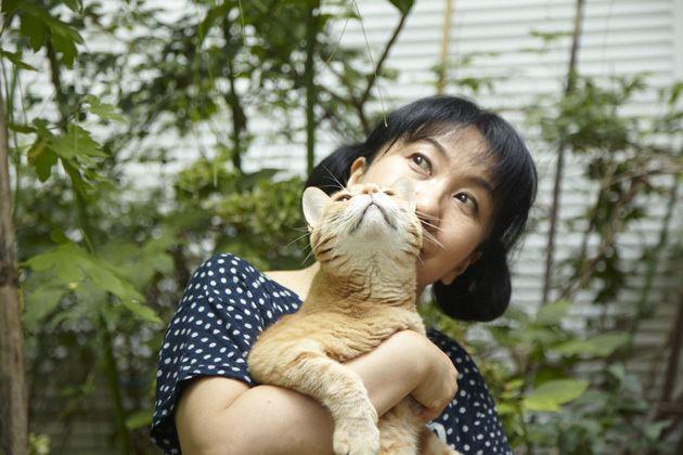Shigeru Muroi Actress Shigeru Muroi and Her 5 Felines 39My deep