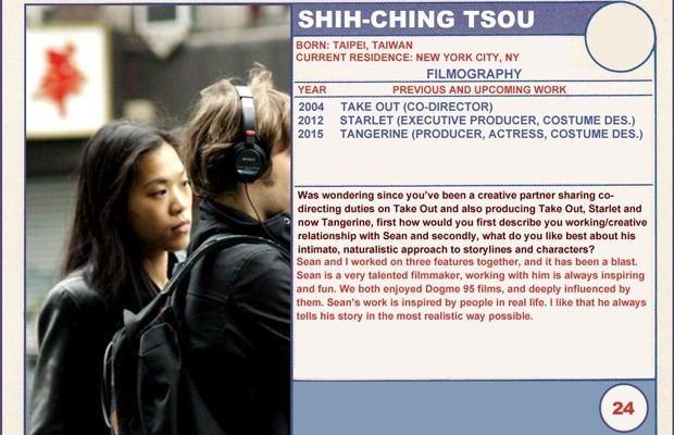 Shih-Ching Tsou 2015 Sundance Trading Card Series 24 ShihChing Tsou