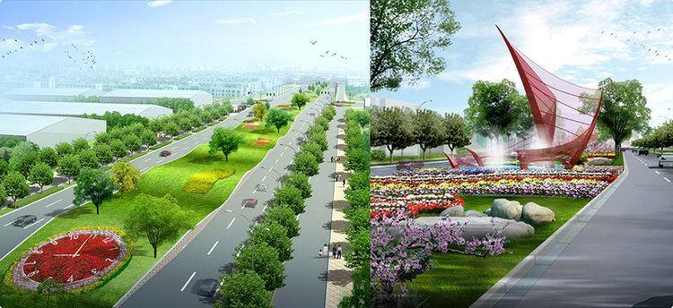 Shijiazhuang Beautiful Landscapes of Shijiazhuang