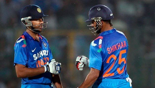 Shikhar DhawanRohit Sharma partnership has shown much promise to be