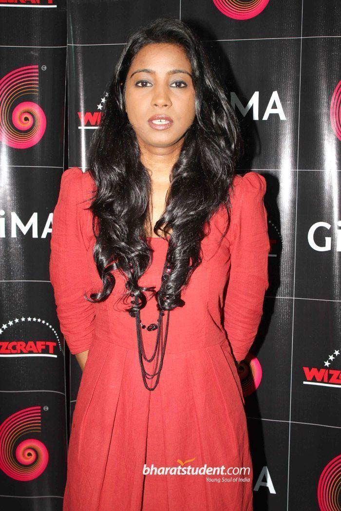 Shilpa Rao Shilpa RaoGiMA 2012 Singer Nominees Press Conference