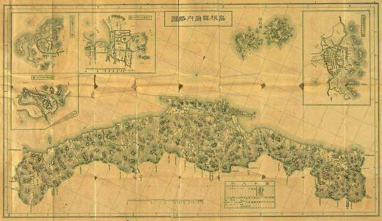 Shimane Prefecture in the past, History of Shimane Prefecture