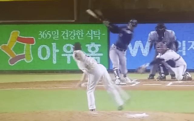 Shin Jung-rak WATCH Shin Jungraks breaking ball is cruel unusual CBSSportscom