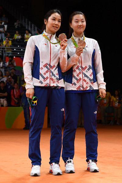 Shin Seung-chan Shin Seung Chan Photos Photos Badminton Olympics Day 13 Zimbio