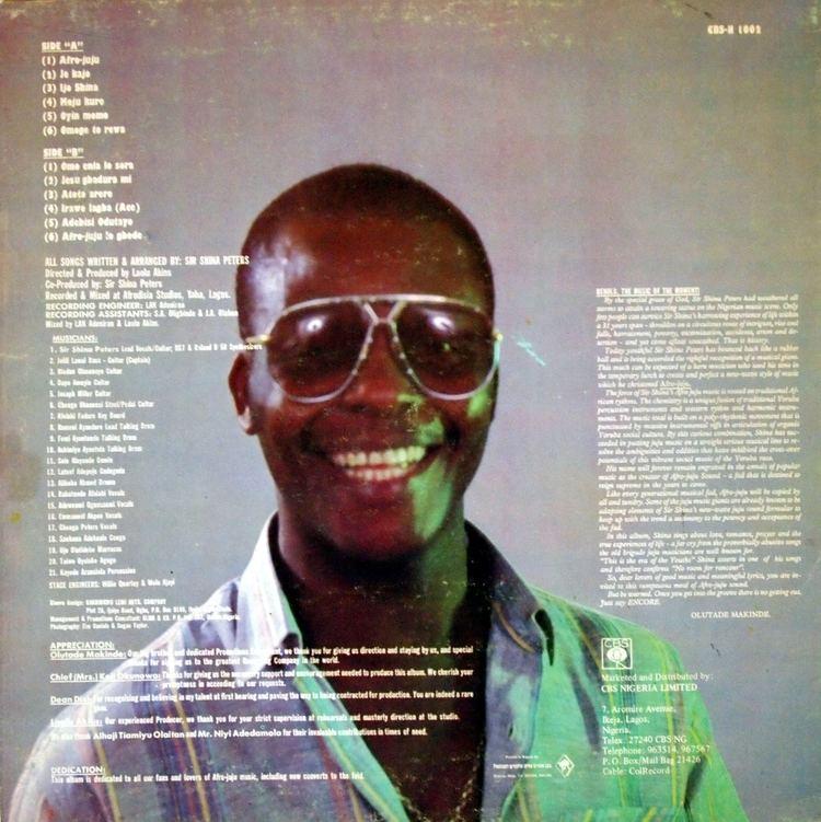 Shina Peters Snap Crackle Pop Sir Shina Peters Afro Juju Series 11989