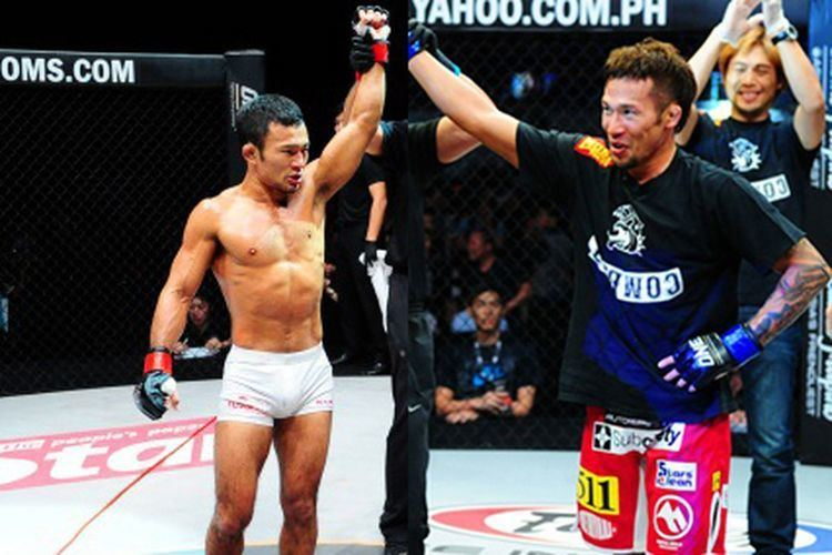 Shinichi Kojima Yasuhiro Urushitani vs Shinichi Kojima headlines ONE FC 10 on Sept