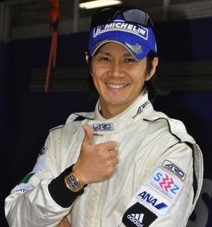 Shinji Nakano LE MANS 24 HOURS Shinji Nakano Boutsen Ginion Racing