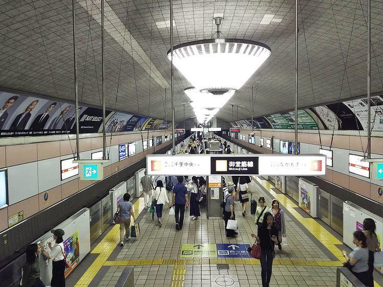Shinsaibashi Station